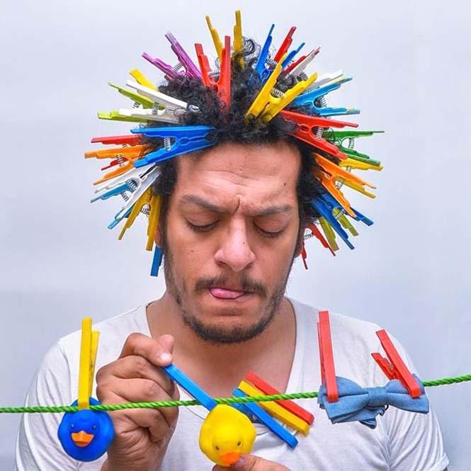 Όταν ένας φωτογράφος παίζει με τα μαλλιά του (9)