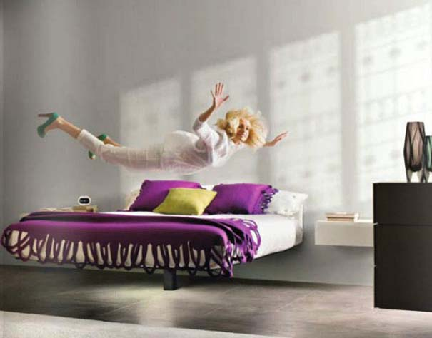 Παράξενα και μοναδικά κρεβάτια (1)