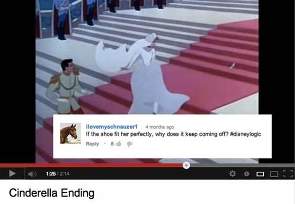 Παράξενα & ξεκαρδιστικά σχόλια στο YouTube (6)