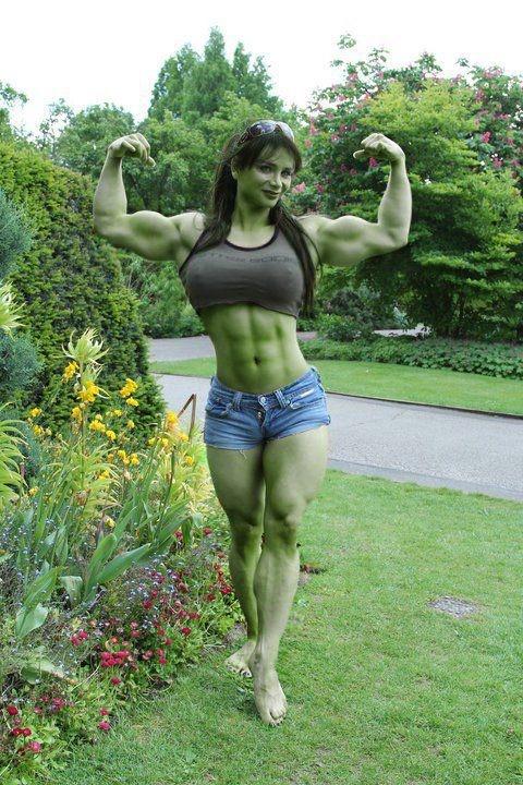 Η γυναίκα του Hulk   Φωτογραφία της ημέρας