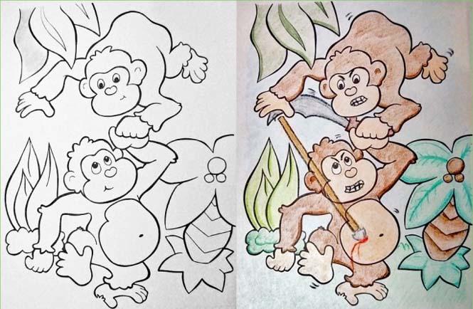 Σχέδια ζωγραφικής... στα χέρια ενηλίκων (1)