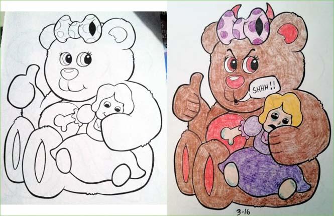 Σχέδια ζωγραφικής... στα χέρια ενηλίκων (2)