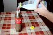 Τι θα συμβεί αν ρίξεις γάλα σε ένα μπουκάλι με Coca Cola