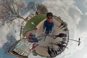 Βίντεο 360 μοιρών: Κάνοντας βόλτες σε μια μικροσκοπική Γη