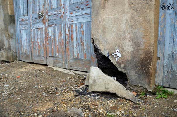 Χιουμοριστική τέχνη του δρόμου από τον OaKoAk (4)