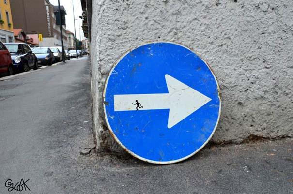 Χιουμοριστική τέχνη του δρόμου από τον OaKoAk (7)