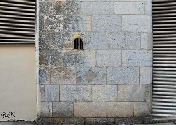 Χιουμοριστική τέχνη του δρόμου από τον OaKoAk (10)