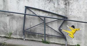 Χιουμοριστική τέχνη του δρόμου από τον OaKoAk #4