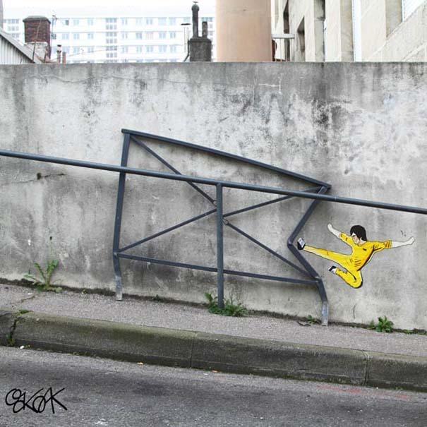 Χιουμοριστική τέχνη του δρόμου από τον OaKoAk (13)