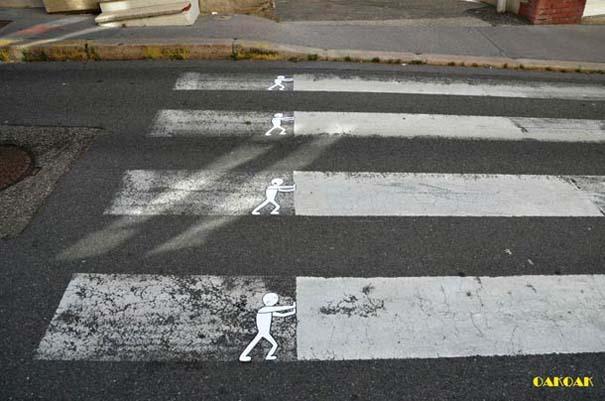 Χιουμοριστική τέχνη του δρόμου από τον OaKoAk (16)