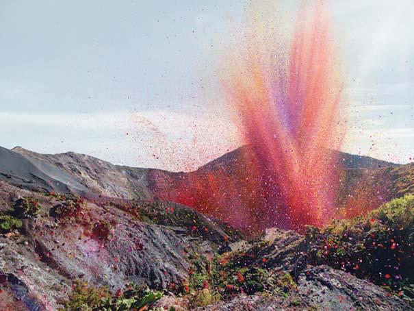 Χωριό στην Κόστα Ρίκα καλύφθηκε από 8 εκατομμύρια πέταλα λουλουδιών (2)