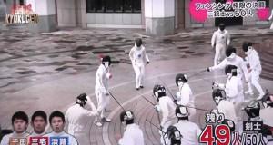 3 ολυμπιακοί αθλητές ξιφασκίας εναντίον 50 ερασιτεχνών (Video)
