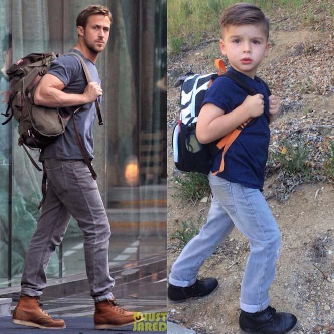4χρονο αγόρι μιμείται ανδρικά μοντέλα (2)