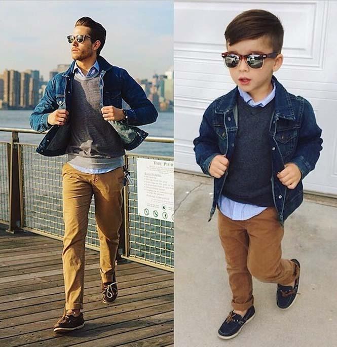 4χρονο αγόρι μιμείται ανδρικά μοντέλα (10)