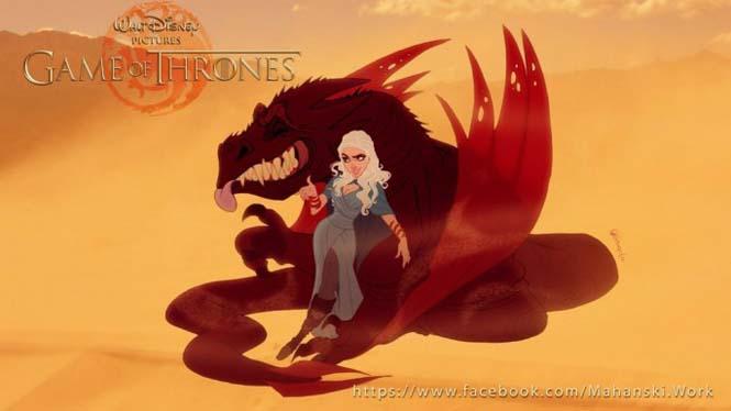 Αν οι χαρακτήρες του Game Of Thrones σχεδιάζονταν από την Disney (3)