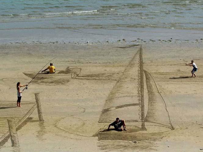 Απίστευτες 3d οφθαλμαπάτες στην άμμο (1)