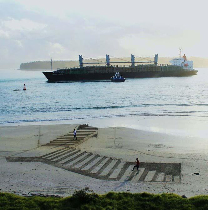 Απίστευτες 3d οφθαλμαπάτες στην άμμο (3)