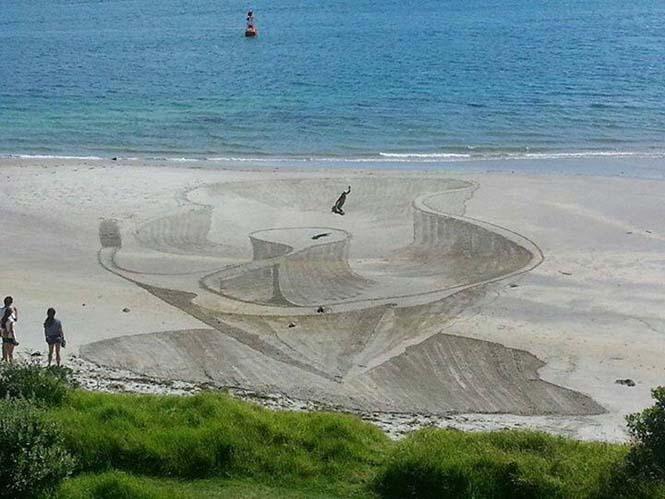Απίστευτες 3d οφθαλμαπάτες στην άμμο (4)