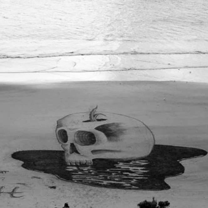 Απίστευτες 3d οφθαλμαπάτες στην άμμο (5)