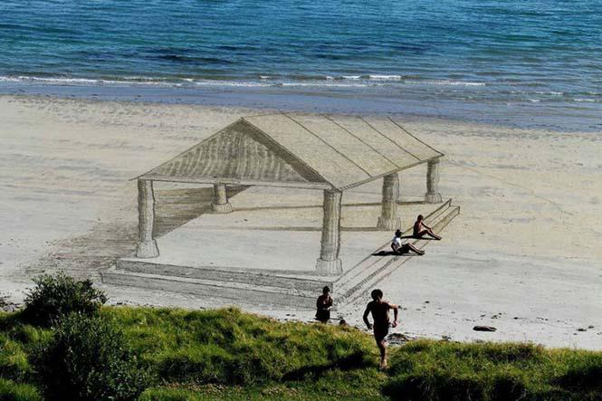 Απίστευτες 3d οφθαλμαπάτες στην άμμο (6)