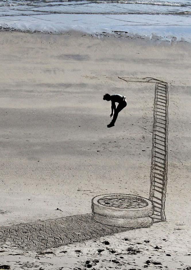 Απίστευτες 3d οφθαλμαπάτες στην άμμο (7)