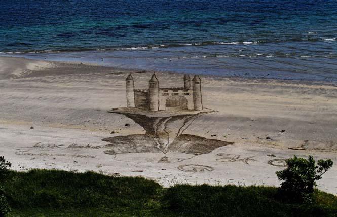 Απίστευτες 3d οφθαλμαπάτες στην άμμο (8)