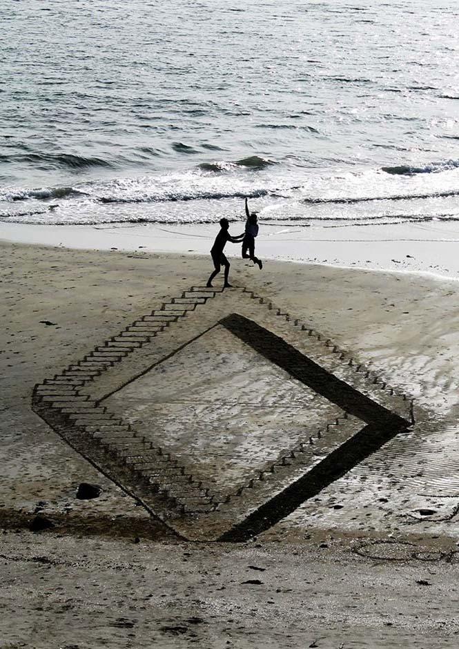 Απίστευτες 3d οφθαλμαπάτες στην άμμο (9)