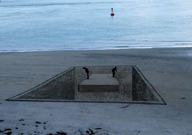 Απίστευτες 3d οφθαλμαπάτες στην άμμο (12)