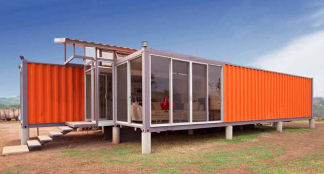 Απίστευτες κατοικίες από containers (3)