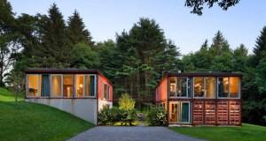 11 απίστευτες κατοικίες από containers