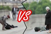 Ένας άστεγος και ένας πλούσιος λιποθυμούν στο δρόμο: Πως θα αντιδράσουν οι περαστικοί