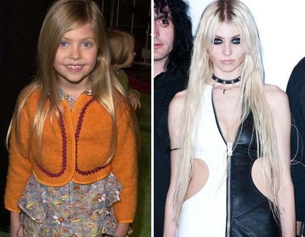 Διάσημα παιδιά τότε και τώρα (2)