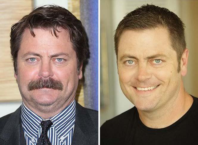 Φωτογραφίες διασήμων που δείχνουν πως ένα μουστάκι μπορεί να αλλάξει τελείως ένα πρόσωπο (1)