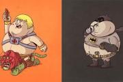 25 διάσημοι χαρακτήρες αν ήταν... χοντρούληδες