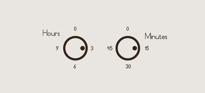 Δημιουργικά και πρωτότυπα ρολόγια (31)