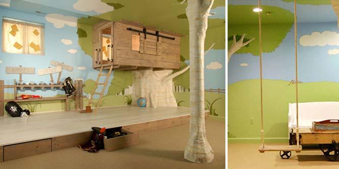 Δημιουργικές ιδέες για παιδικά δωμάτια (12)