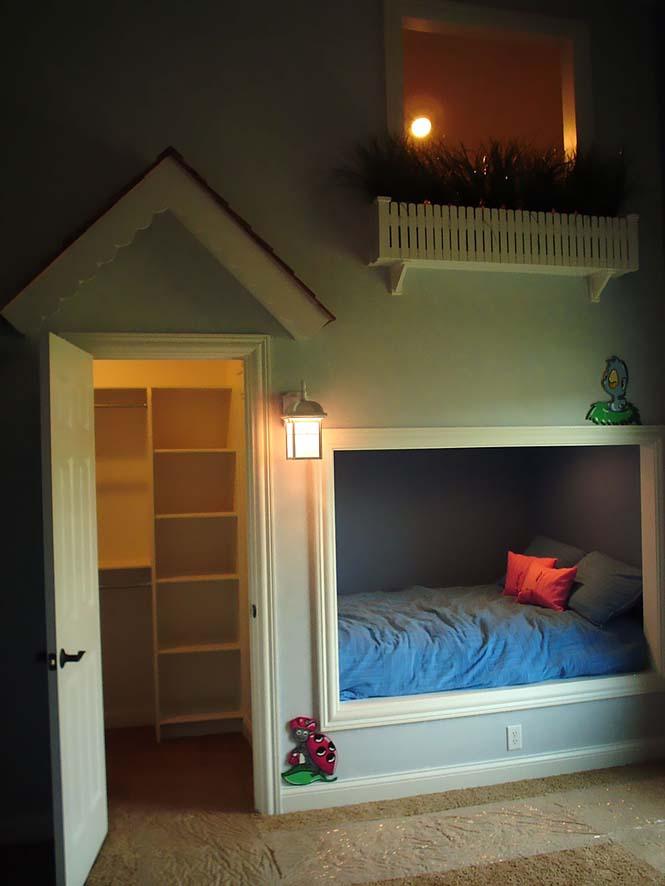 Δημιουργικές ιδέες για παιδικά δωμάτια (15)