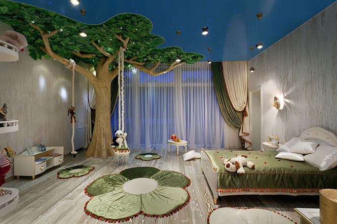 Δημιουργικές ιδέες για παιδικά δωμάτια (23)