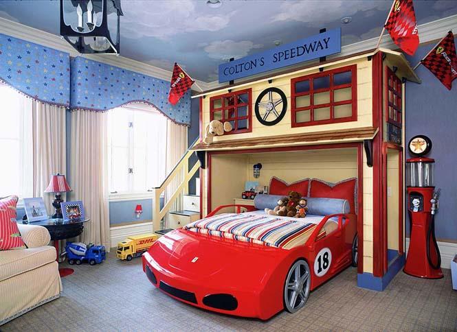 Δημιουργικές ιδέες για παιδικά δωμάτια (24)