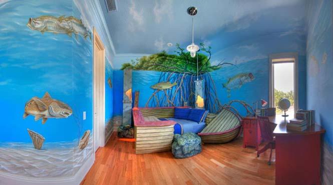 Δημιουργικές ιδέες για παιδικά δωμάτια (27)