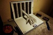 Εκπληκτικά 3D σκίτσα από τον Nagai Hideyuki (7)
