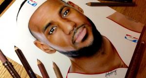Αυτό το εκπληκτικά ρεαλιστικό πορτραίτο του LeBron James θα σας αφήσει άφωνους (Video)