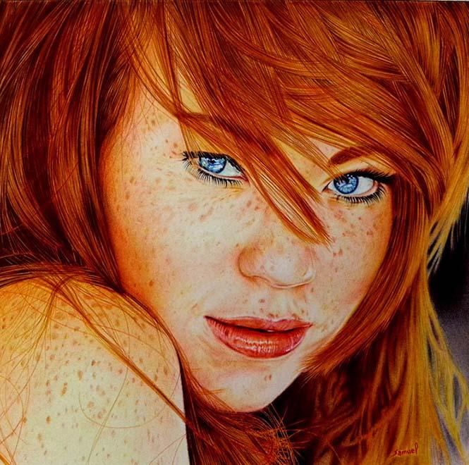 Εκπληκτικές ρεαλιστικές ζωγραφιές με στυλό (4)