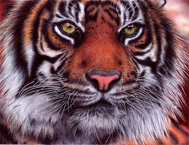 Εκπληκτικές ρεαλιστικές ζωγραφιές με στυλό (8)