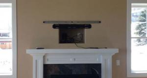 Ένας καλλιτεχνικός τρόπος για να «κρύψετε» μια τηλεόραση