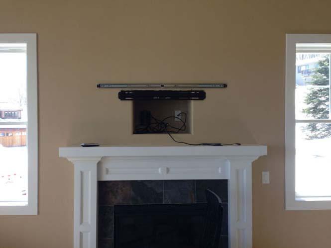 Ένας καλλιτεχνικός τρόπος για να «κρύψετε» μια τηλεόραση (2)