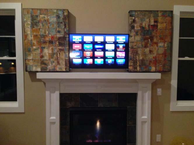 Ένας καλλιτεχνικός τρόπος για να «κρύψετε» μια τηλεόραση (10)