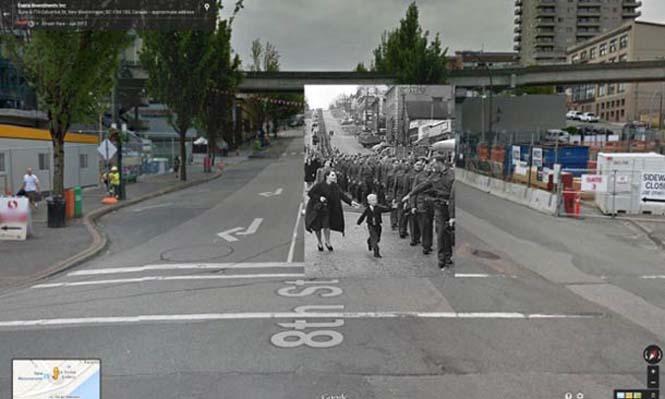 Φωτογραφίες του Β' Παγκοσμίου Πολέμου στο Google Street View (1)