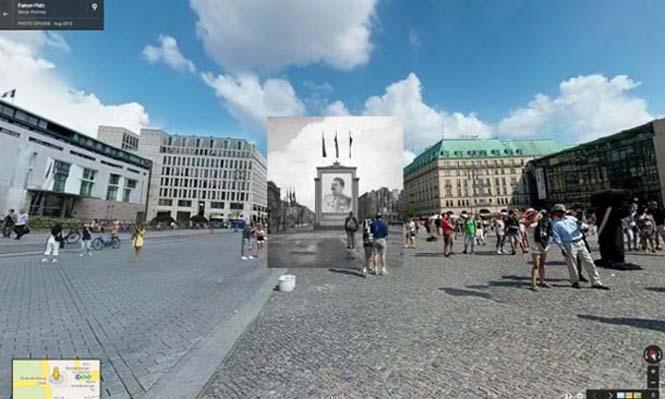 Φωτογραφίες του Β' Παγκοσμίου Πολέμου στο Google Street View (3)