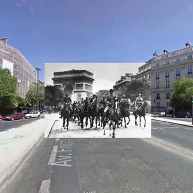 Φωτογραφίες του Β' Παγκοσμίου Πολέμου στο Google Street View (4)